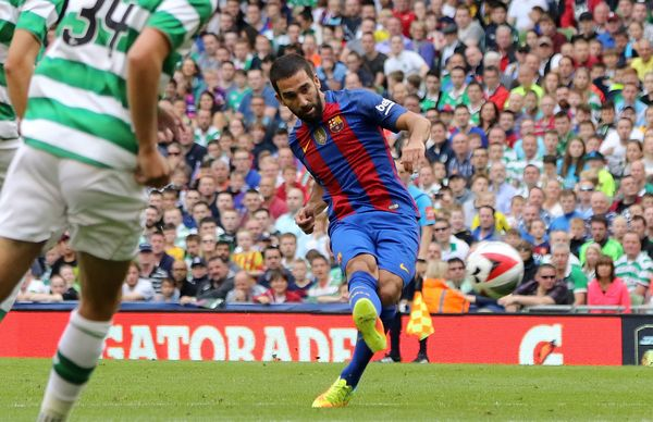 Image result for gol de arda turan barcelona x celtic