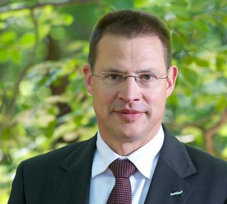 Heiner Scheffold bewirbt sich auf die Stelle des Landrats.