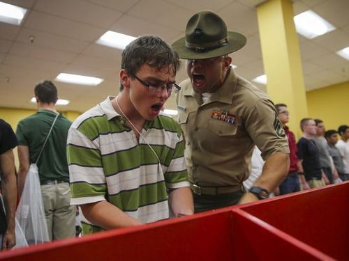 lack of discipline in the military