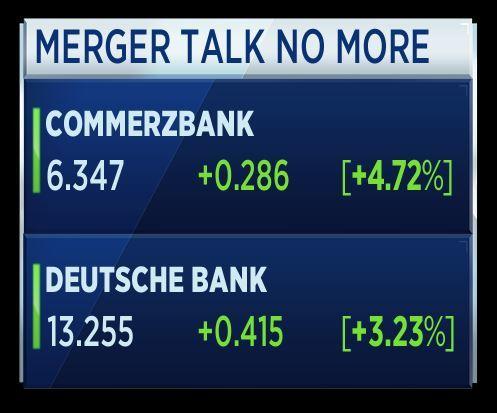 Deutsche Bank studia le nozze con Commerzbank