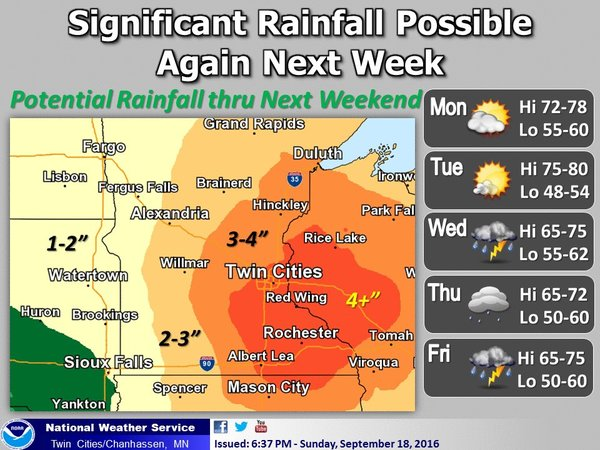 More Wet Weather On The Way Starting Tuesday Night As A Tropical Airmass Returns Wiwx Mnwx Pbstwimg Media CsrIZwyWYAEz9cV