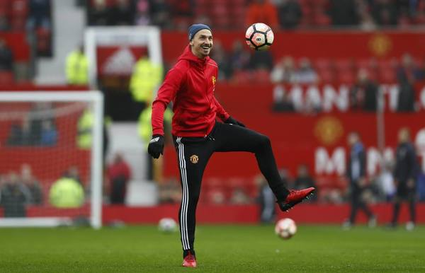 Zlatan Ibrahimovic missing, Wayne Rooney starts for Manchester United