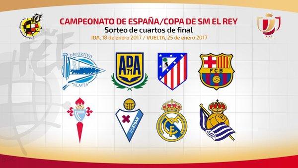Copa Del Rey Cuartos De Final | Resultado Del Sorteo De La Copa Del Rey