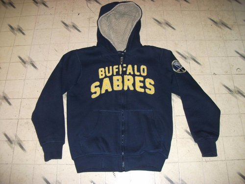 c33100684 #Sales BUFFALO SABRES FLEECE LINED DISTRESSED HOODIE GIII CARL BANKS SIZE ADULT  SMALL dlvr.it/N88NGy #TFW