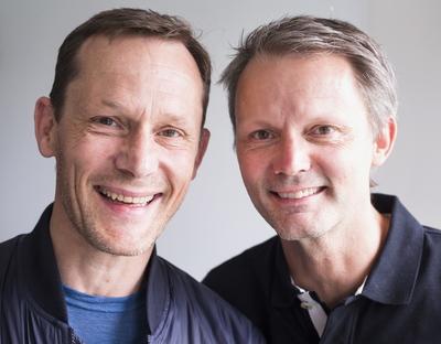 Bröderna Måns och Felix Herngren. Foto  Thomas Johansson TT 508e71ad94a97