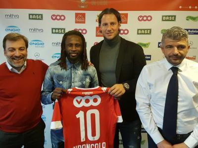 Dieumerci Ndongala quitte La Gantoise et signe pour trois ans et demi au Standard