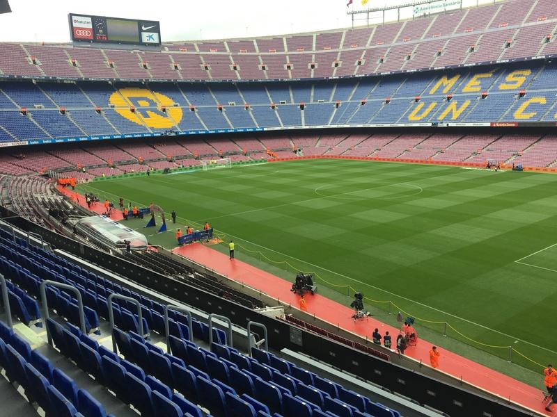 El interior del Camp Nou. Foto Manel Montilla d796704b09d