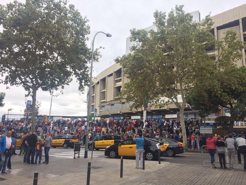 Nos llegan imágenes desde fuera del estadio. FOTO: Miguel Chopo