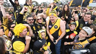 Richmond Family Day live: Punt Road packed to see Tigers premiership
