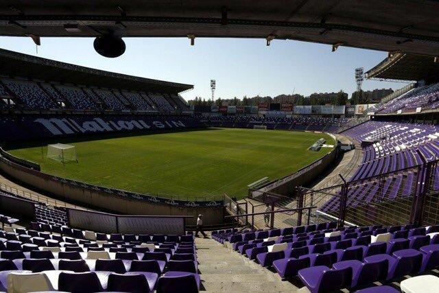 El estadio José Zorrilla