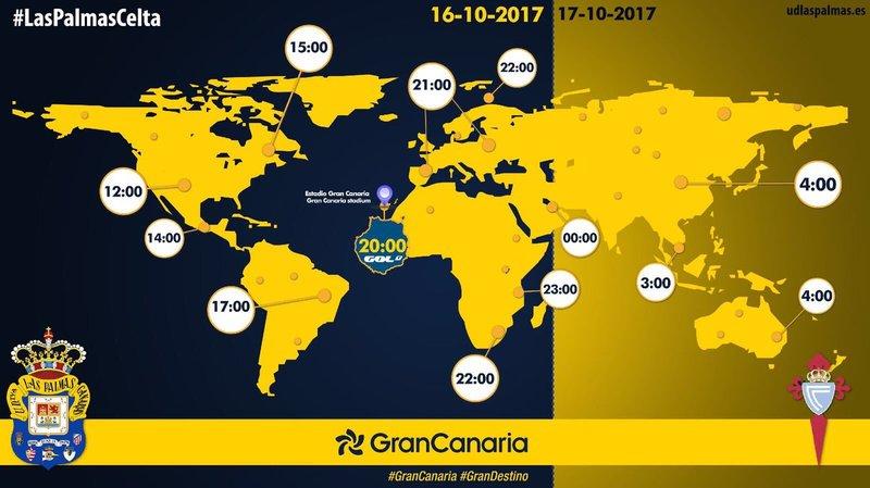 A estas horas se verá el partido en varios países