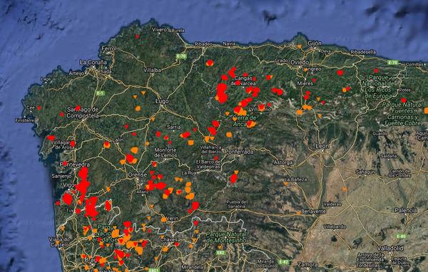 Incendios en galicia al menos cuatro muertos en los - Donde alojarse en galicia ...