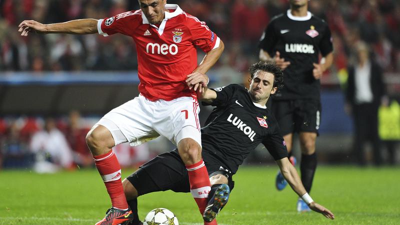 Nico Pareja jugó en el Spartak entre 2010 y 2013, disputando 47 partidos de liga y marcando tres goles.