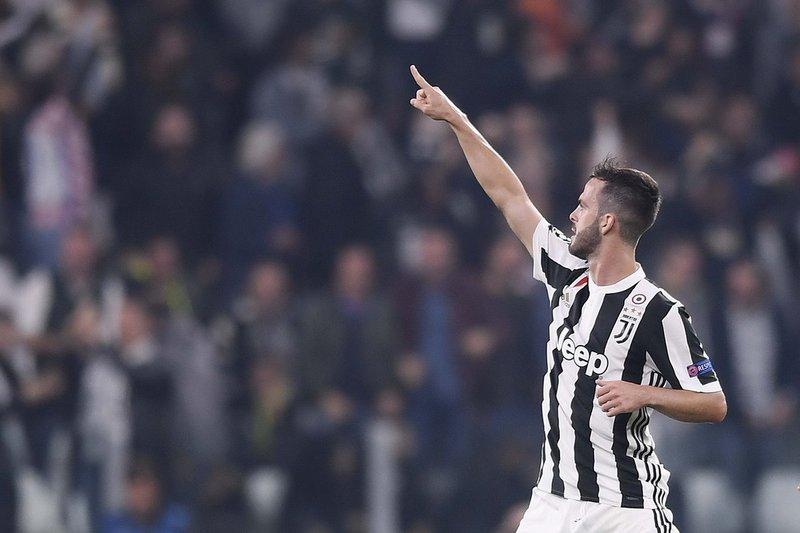Pjanic celebra su gol