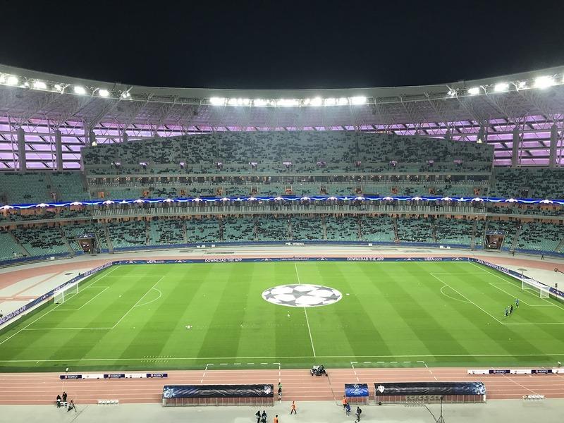 Así está el estadio a menos de una hora para el inicio