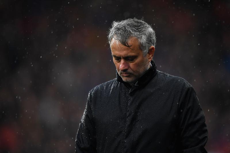 Mourinho, abatido