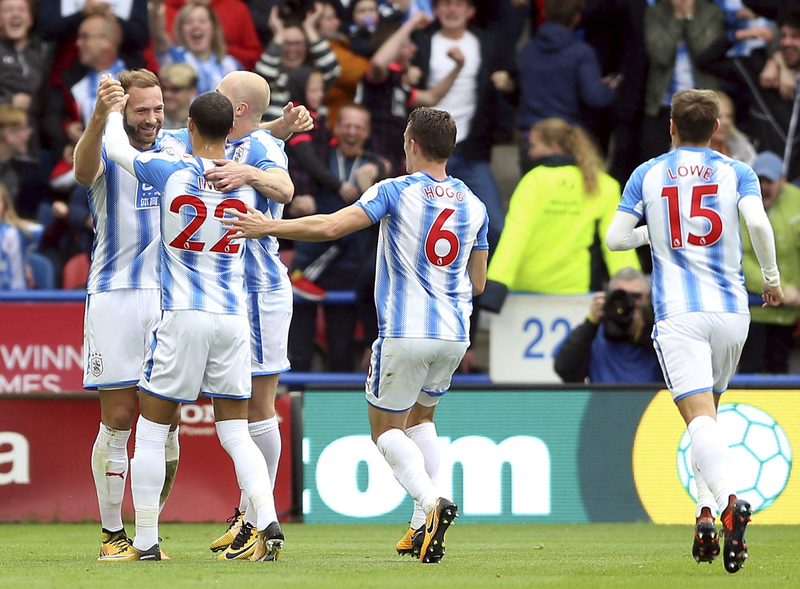 La alegría del Huddersfield