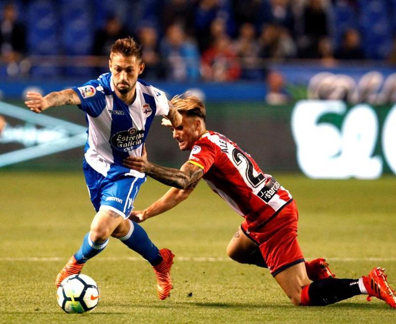 Fede Cartabia no está teniendo acierto en el Deportivo FOTO: EFE