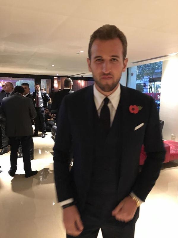 Harry Kane, el delantero de moda, también estará en la gala de The Best. El Real Madrid tiene interés en él y Florentino podría hacer alguno de sus famosos movimientos. Foto: Cristina Cubero