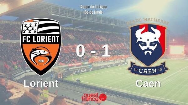 Coupe de la ligue r aliste caen s 39 impose lorient et - Resultats coupe de la ligue en direct ...