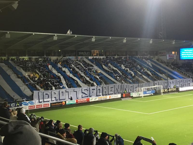 Fansens protest ersatte tifo