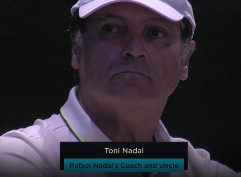 Torneo especial para Toni Nadal, el de despedida como entrenador que viaja con Rafa Nadal.