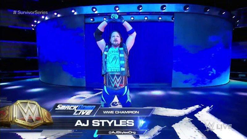 WWE Champion AJ Styles (wwe.com)