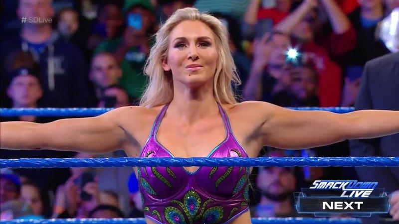 Charlotte Flair, nueva campeona de SmackDown (wwe.com)