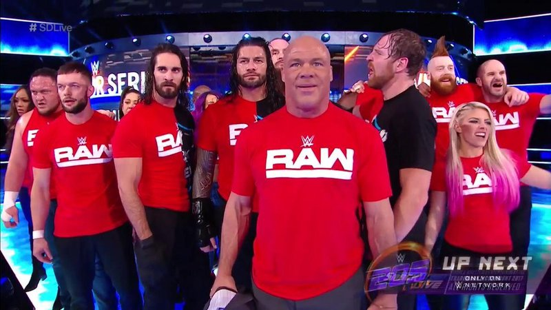 RAW invadió Smackdown (wwe.com)