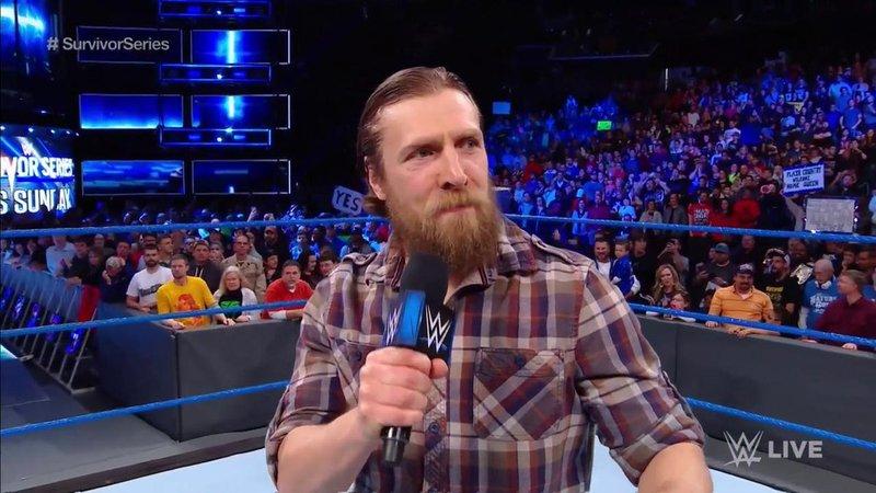 Daniel Bryan está de regreso a SmackDown Live (wwe.com)
