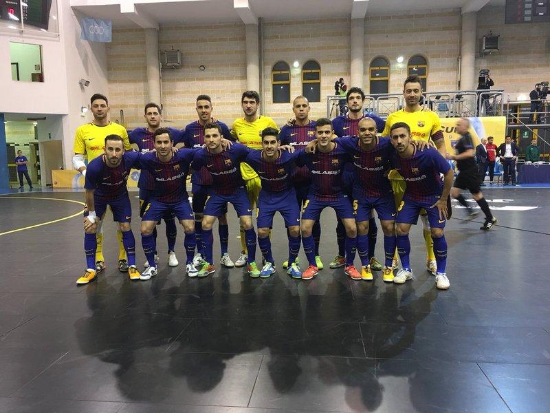 El Barça Lassa, en Pescara FOTO: FCB