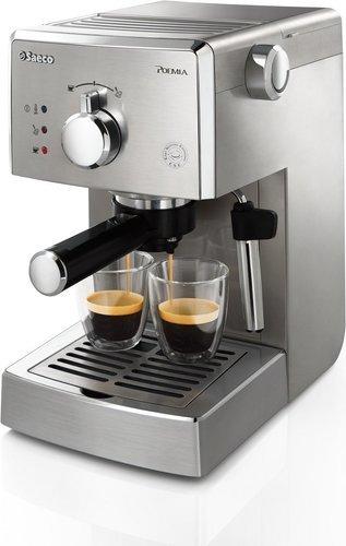 Máquina de café espresso - Saeco Poemia Inox HD8427/11