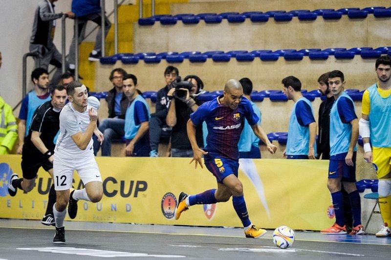 Leo Santana, en acción en Pescara FOTO: FCB
