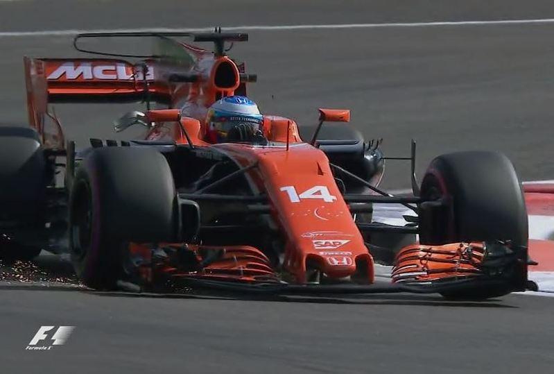 Alonso, en el GP de Abu Dhabi de F1