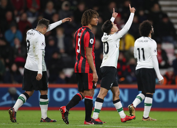Bournemouth Liverpool Stream: Live Premier League Updates As