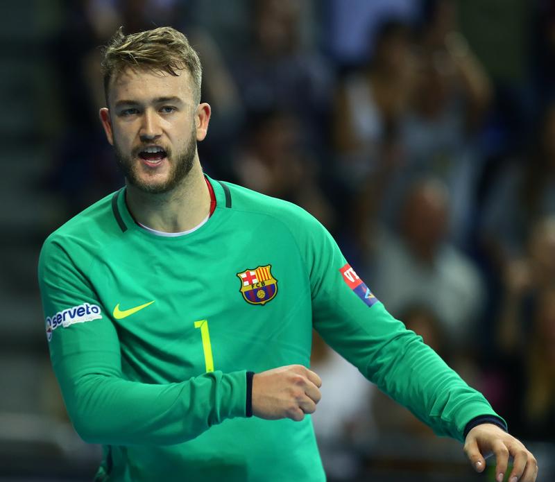 Gonzalo, portero titular del Barça