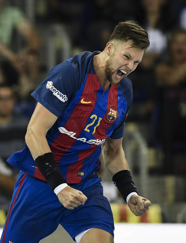 Syprzak ha marcado un gol casi definitivo para la suerte del partido