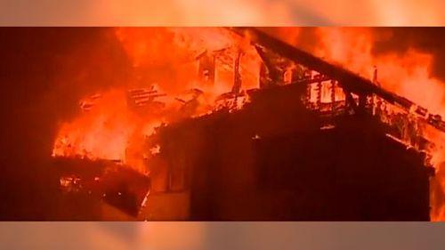 Terribles Videos Del Fuerte Incendio Que Est Fuera De Control En California ThomasFire