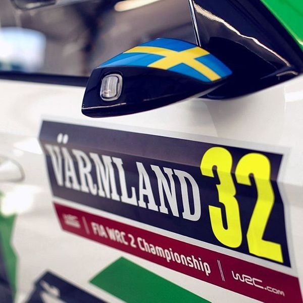 Car #32 is ready to hit the roads of Värmland again! Classic #RallySweden action coming up today and we will enjoy it to the fullest while doing what we can to control our lead. SS9, Knon 1, starts at 08:08. #WRC2