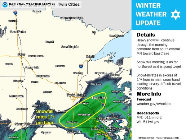 Live weather updates – Wisconsin Travel Conditions Map