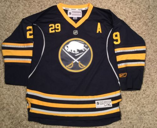 Sales JASON POMINVILLE  Reebok Youth Buffalo Sabres Hockey Jersey L   XL  NHL  RBK CCM dlvr.it NWr847  TFW ab356ff55