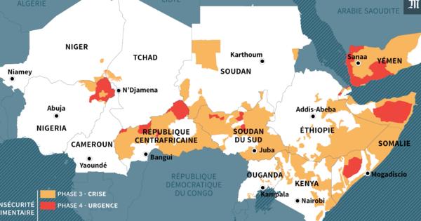 """Résultat de recherche d'images pour """"famine, afrique, 2016, 2017"""""""