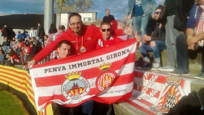 La Penya Inmortal de Girona, presente en el Municipal d'Olot
