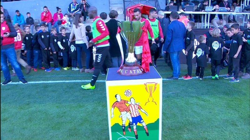 El trofeo que se juegan Nàstic y Girona