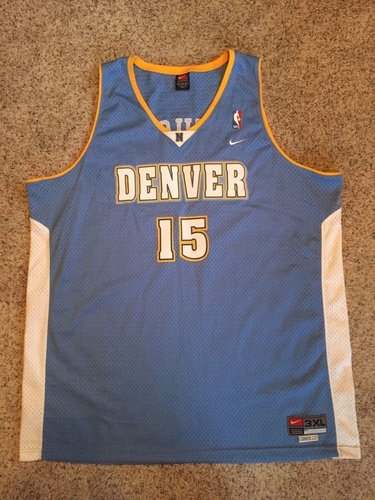 38c3034bb12  NBA Carmelo Anthony  Denver  Nuggets  15 NBA  Nike Swingman  Jersey Mens  Sz 3XL +2 MELO dlvr.it NlS6vb  Basketball