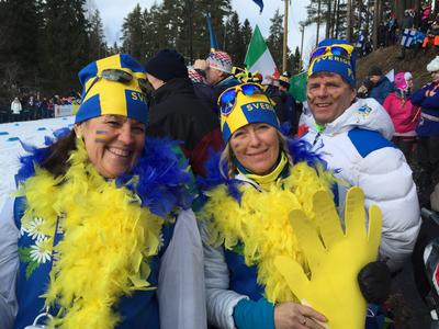 Svenska herrarna vann stafetten