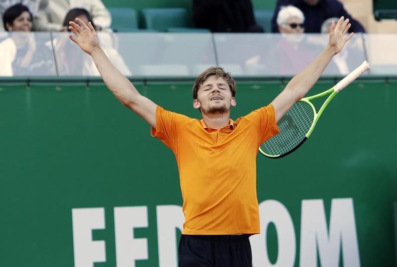 David Goffin, verdugo de Novak Djokovic para estar en semifinales, contra el vencedor de este Nadal-Schwartzman