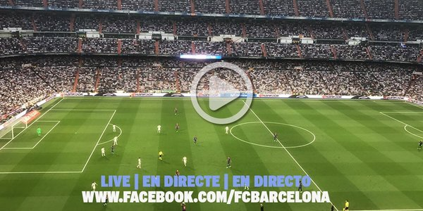 fcbarcelona a unique experience live elclasico matchparty from the camp nou ow ly qlrd30b64xe don t forget to connect your headphones