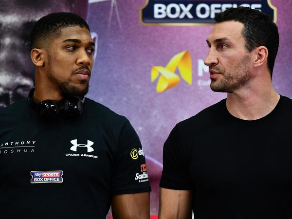 A statistical breakdown of Joshua vs Klitschko