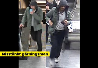 Har ar forsta bilden inifran tunnelbanan efter attacken